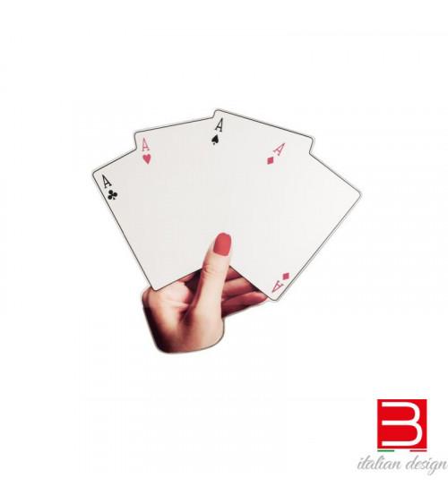 Mirror Seletti Shaped Mirror Poker