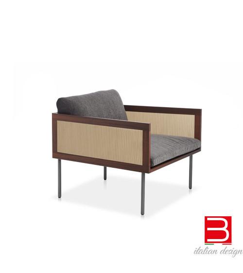 Sillón lounge Potocco Loom 880/PR-OUT