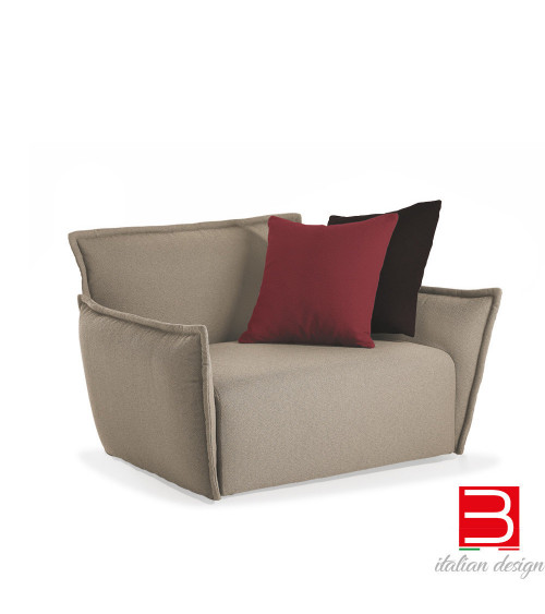 Lounge armchair Potocco Purple 935P-OUT