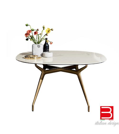 Table Sovet Italia Arkos shaped square