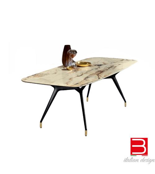 Table Sovet Italia Arkos shaped rectangular