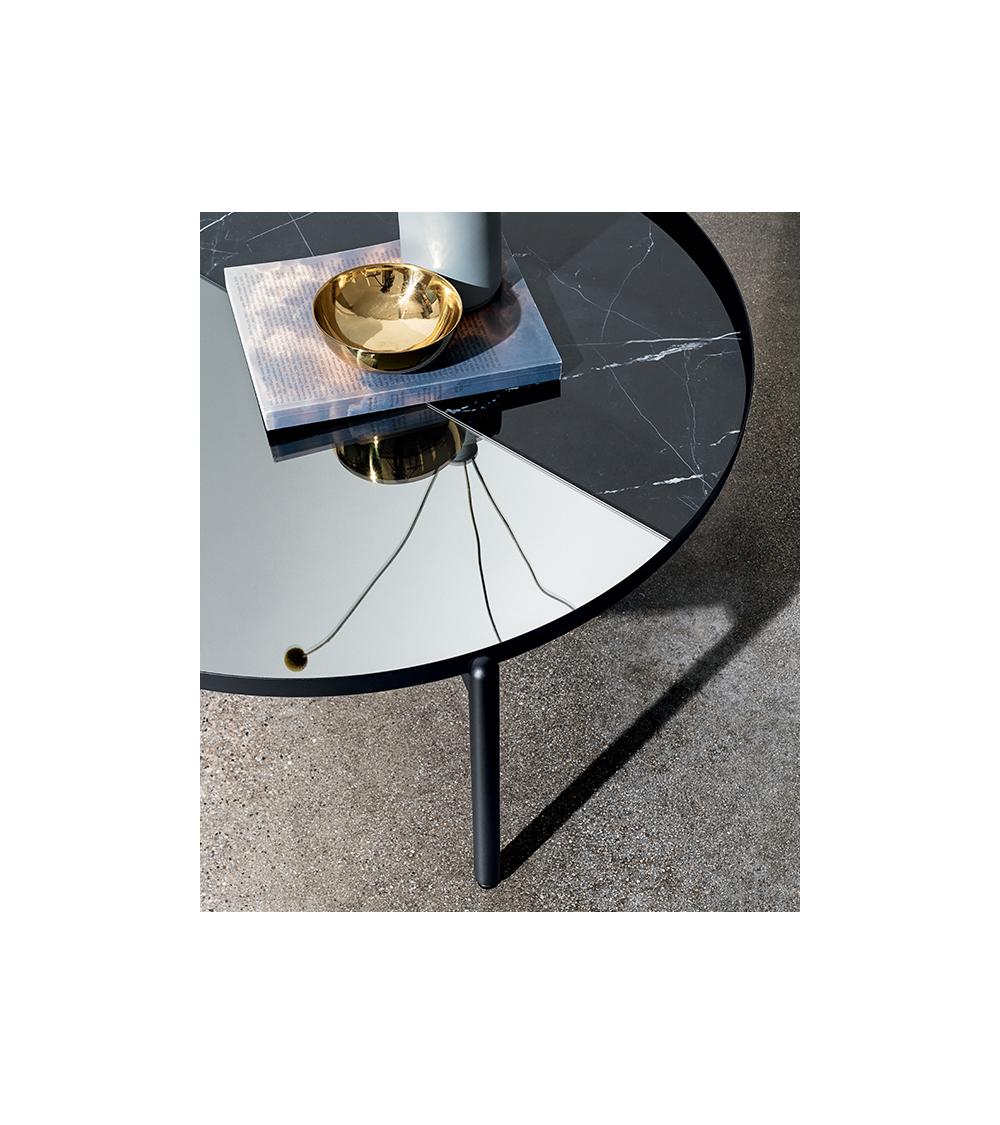 Small table Sovet Italia Campos two tone