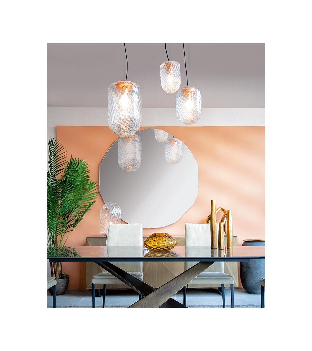 Suspension lamp Riflessi Tiffany S