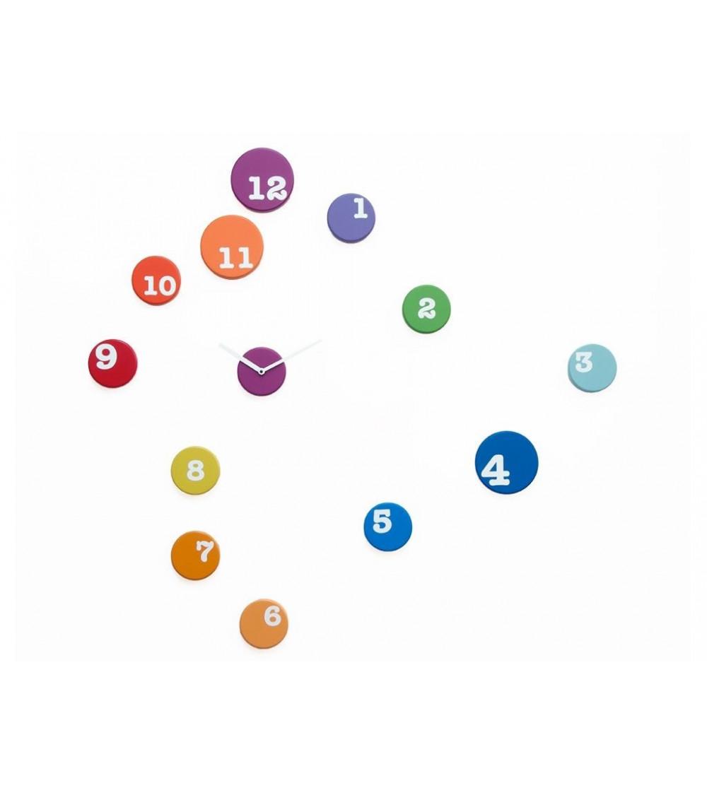 Orologio colorato Progetti 25th year Fun_Time