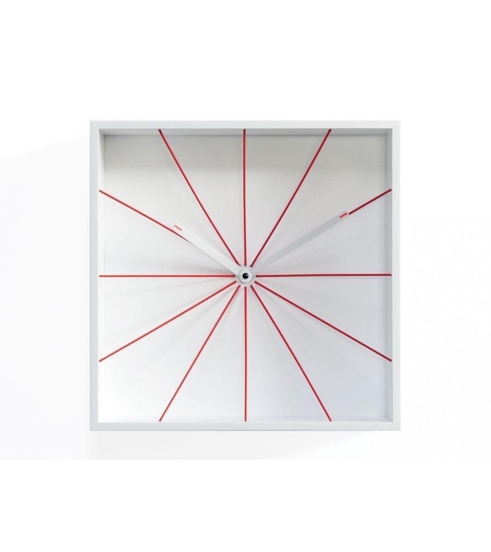 Orologio bianco Progetti 25th year Prospettivo