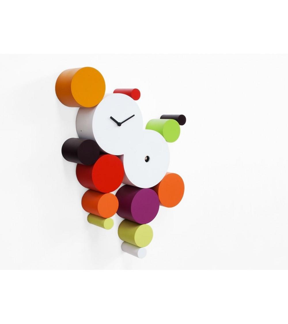 Orologio colori caldi Cucuball Progetti 24th year