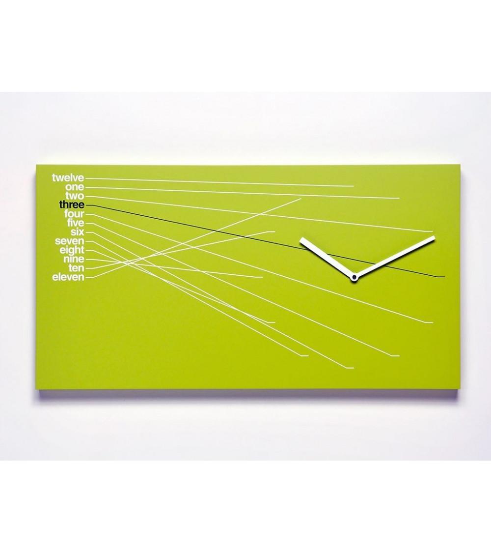 Orologio verde Progetti 25th year Timeline