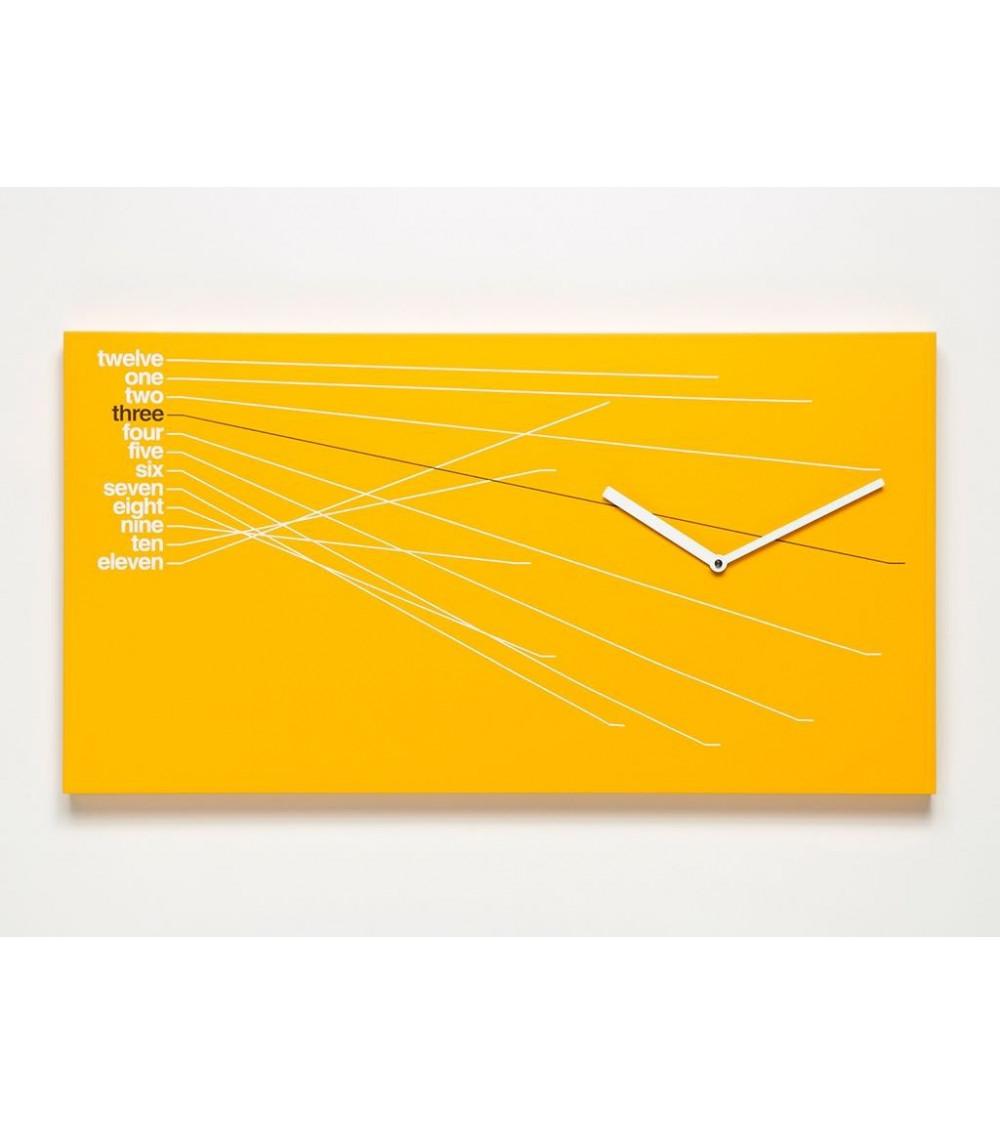 Orologio arancio Progetti 25th year Timeline