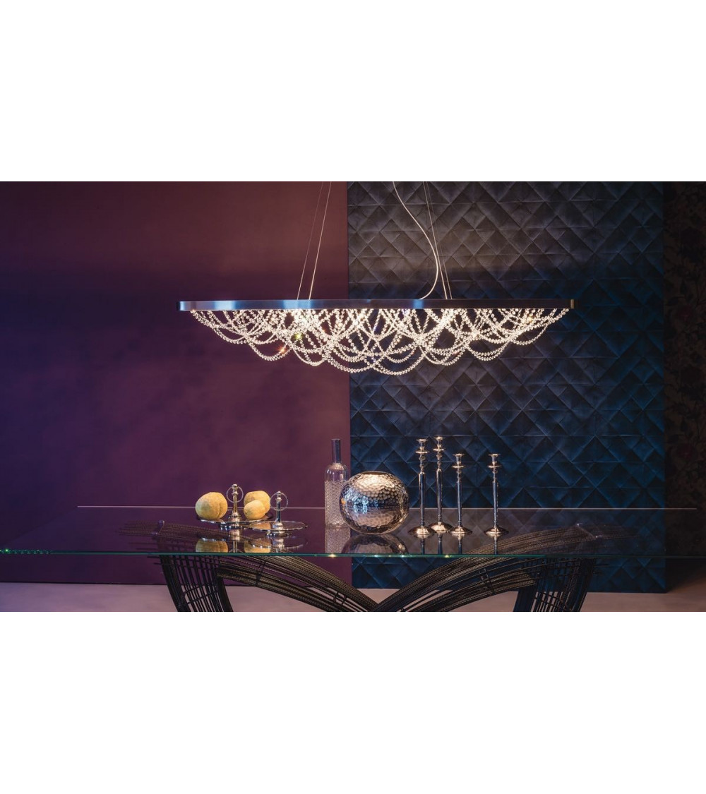 Lámpara colgante Cattelan Cristal