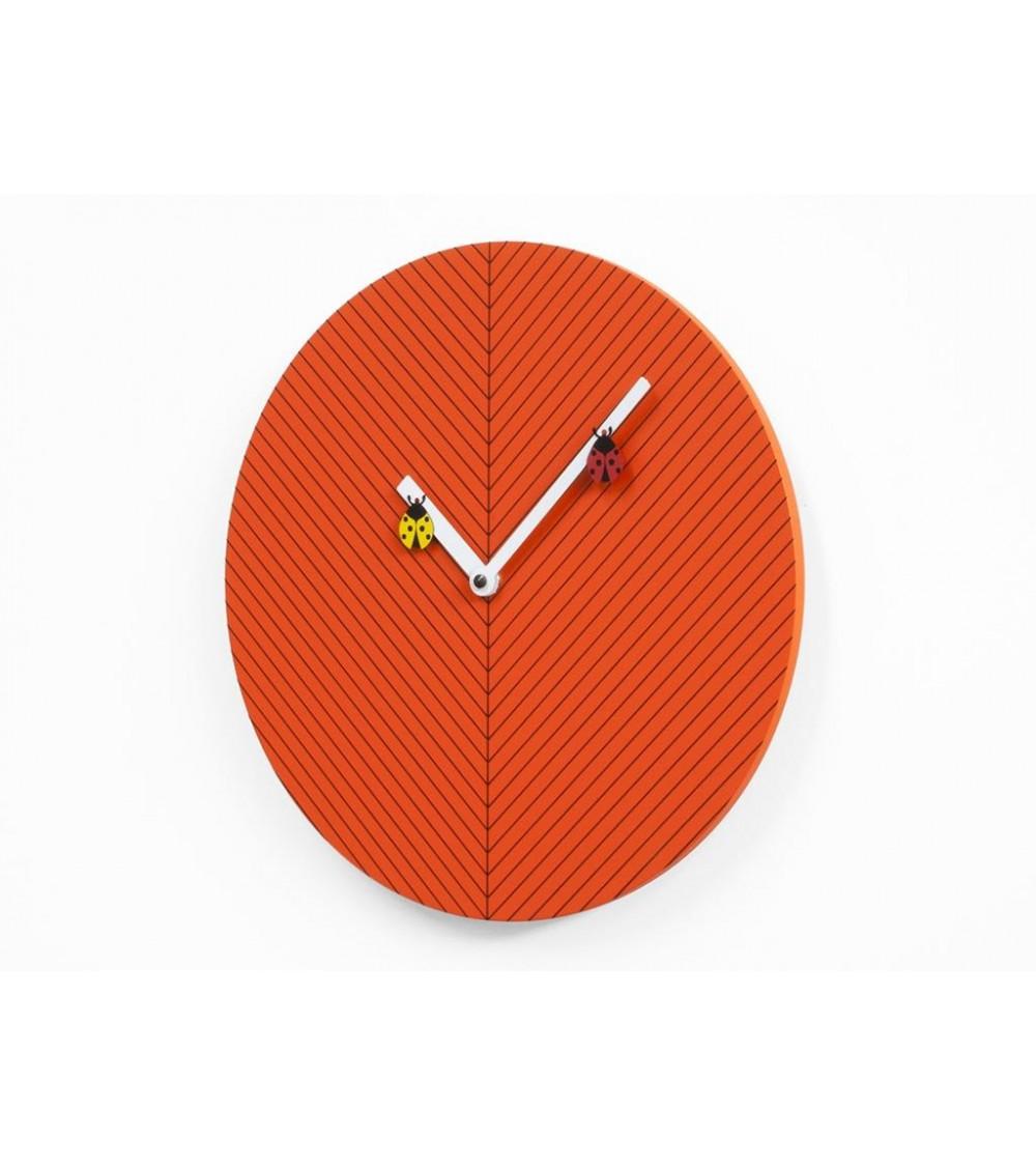 Orologio arancio scuro Progetti 25th Time2bugs