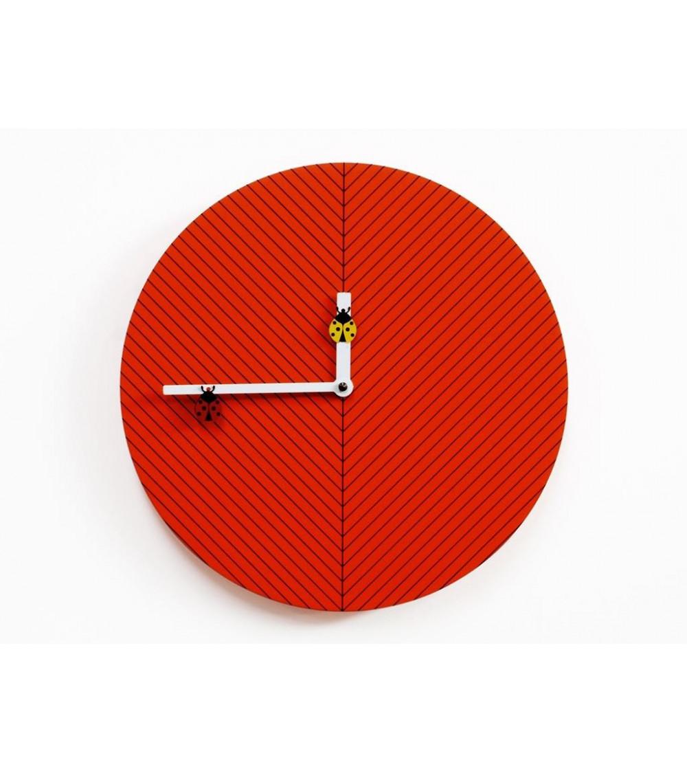 Orologio arancio scuro con apine Progetti 25th Time2bugs