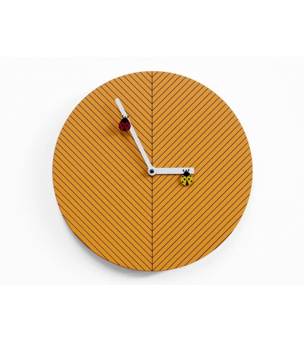 Orologio arancio chiaro Progetti 25th Time2bugs