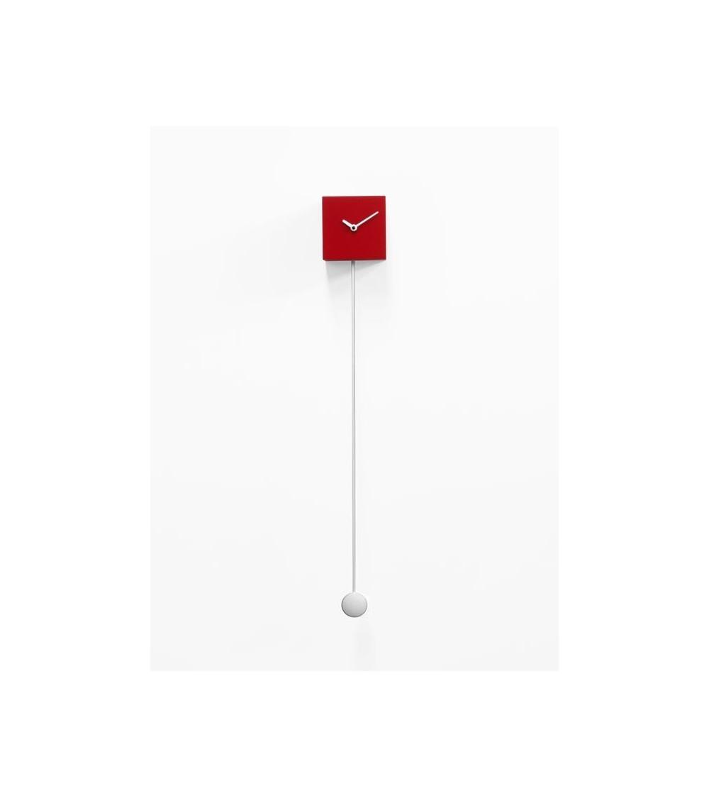 Orologio rosso Progetti 25th Long_Time