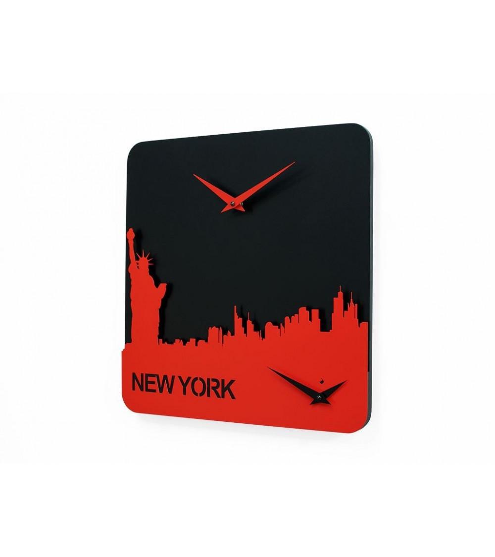 Clock Progetti 25th Time travel -  New York