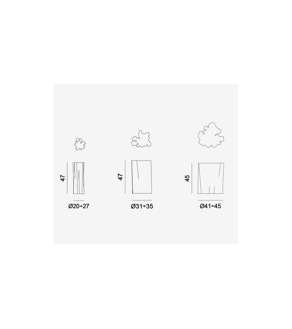 Pouf / tavolino Gervasoni Brick XS/S/M/L
