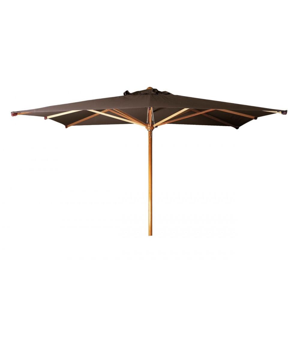 Parasol Tribù Eclipse en madera de eucalipto