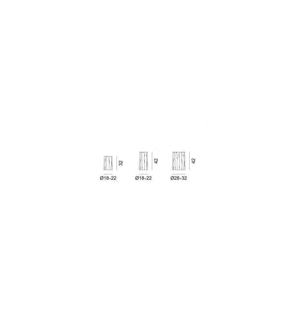 tavolini gervasoni log s/m/l in faggio