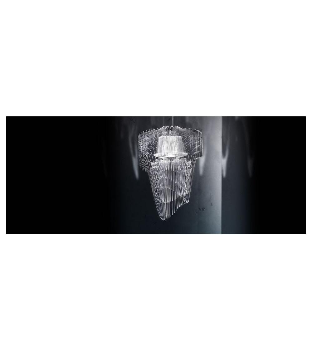 Pendant lamp Slamp Aria Transparent