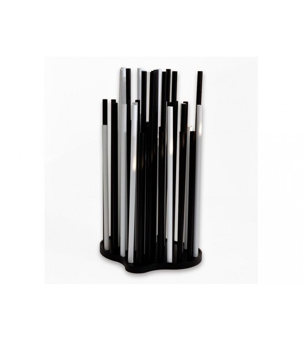 Portaombrelli bianco e nero Progetti 25Th Zolla