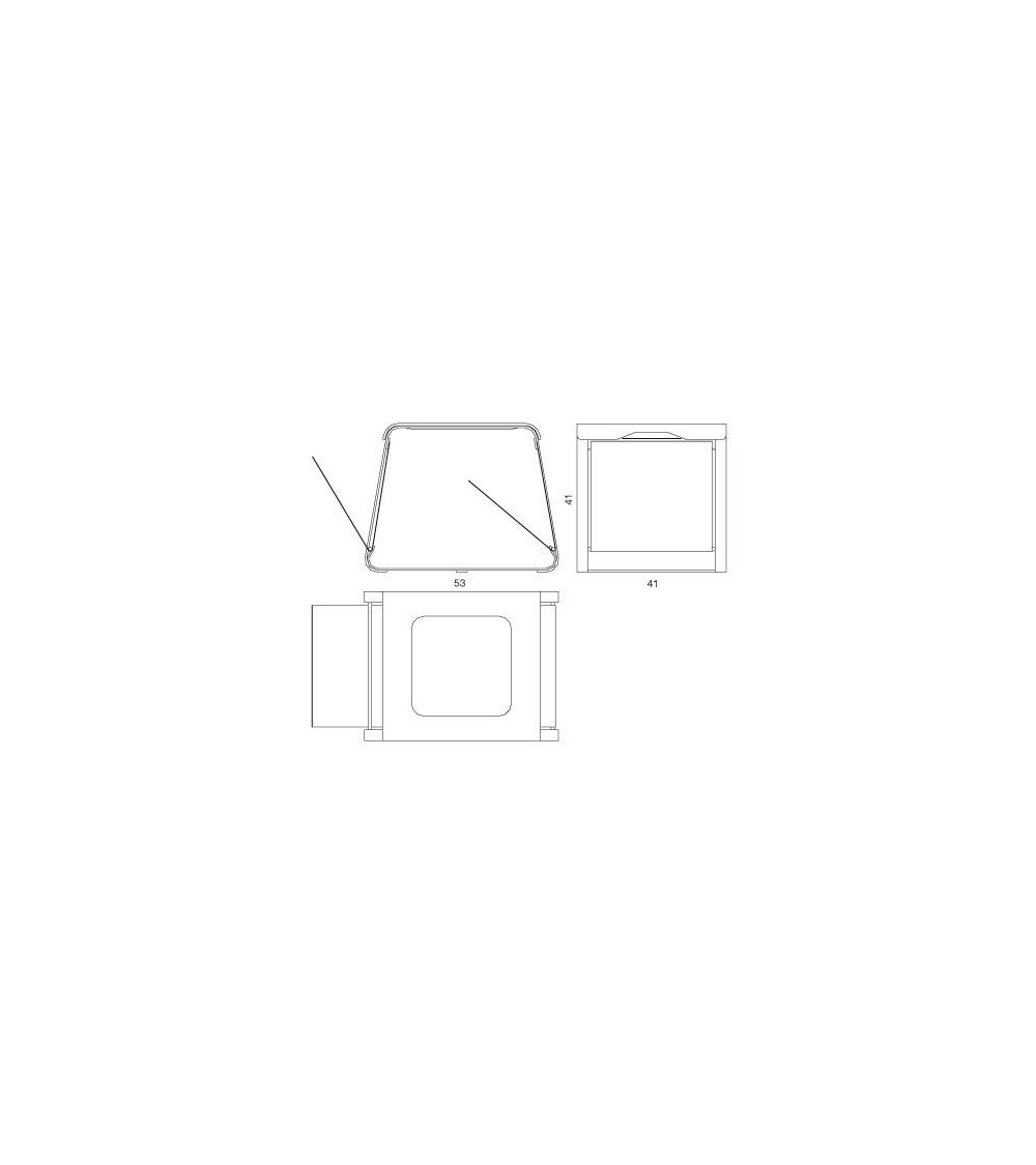 Mesa de centro Progetti 25 TH Flap