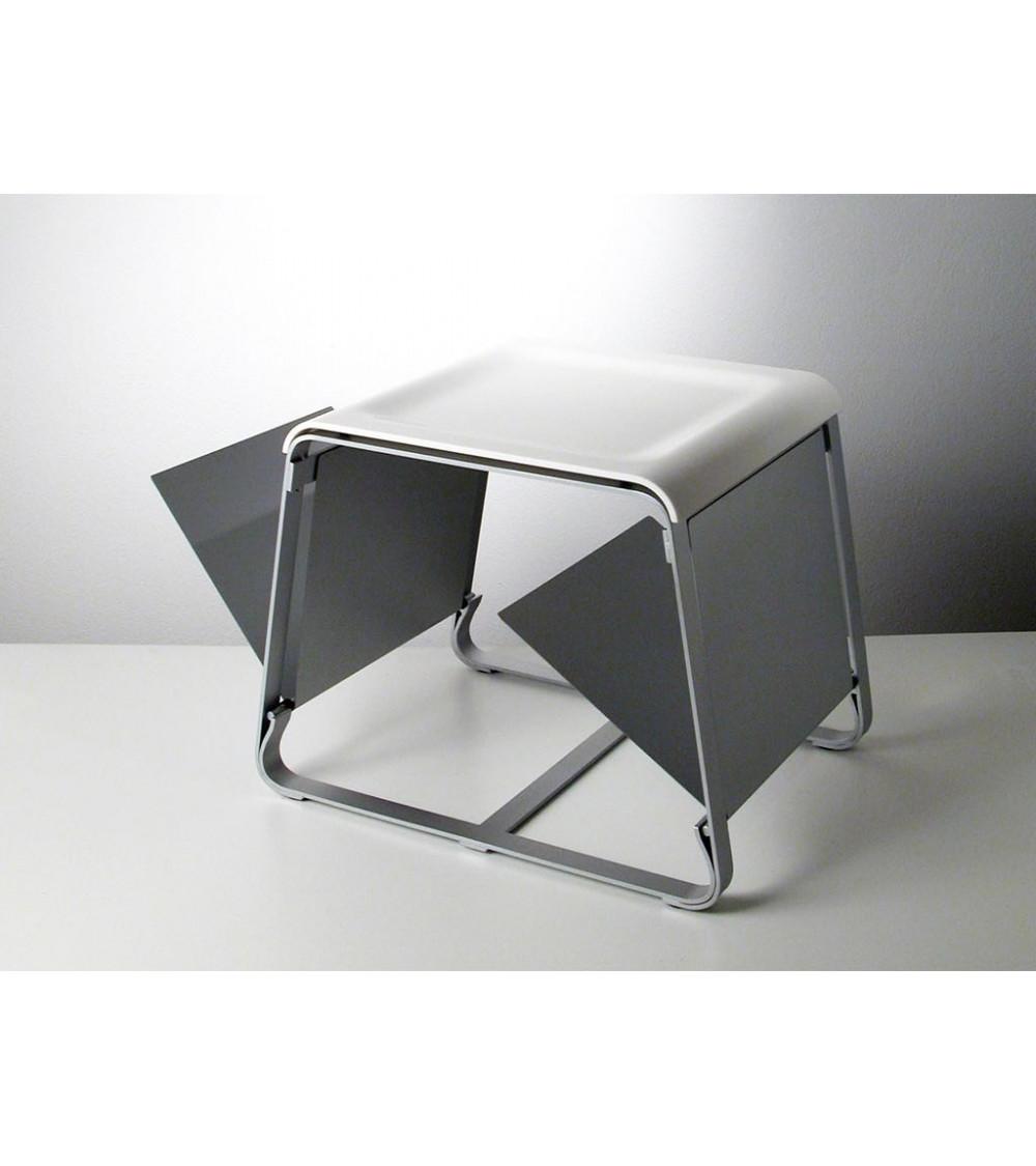 Tavolino in acciaio Progetti 25 TH Flap