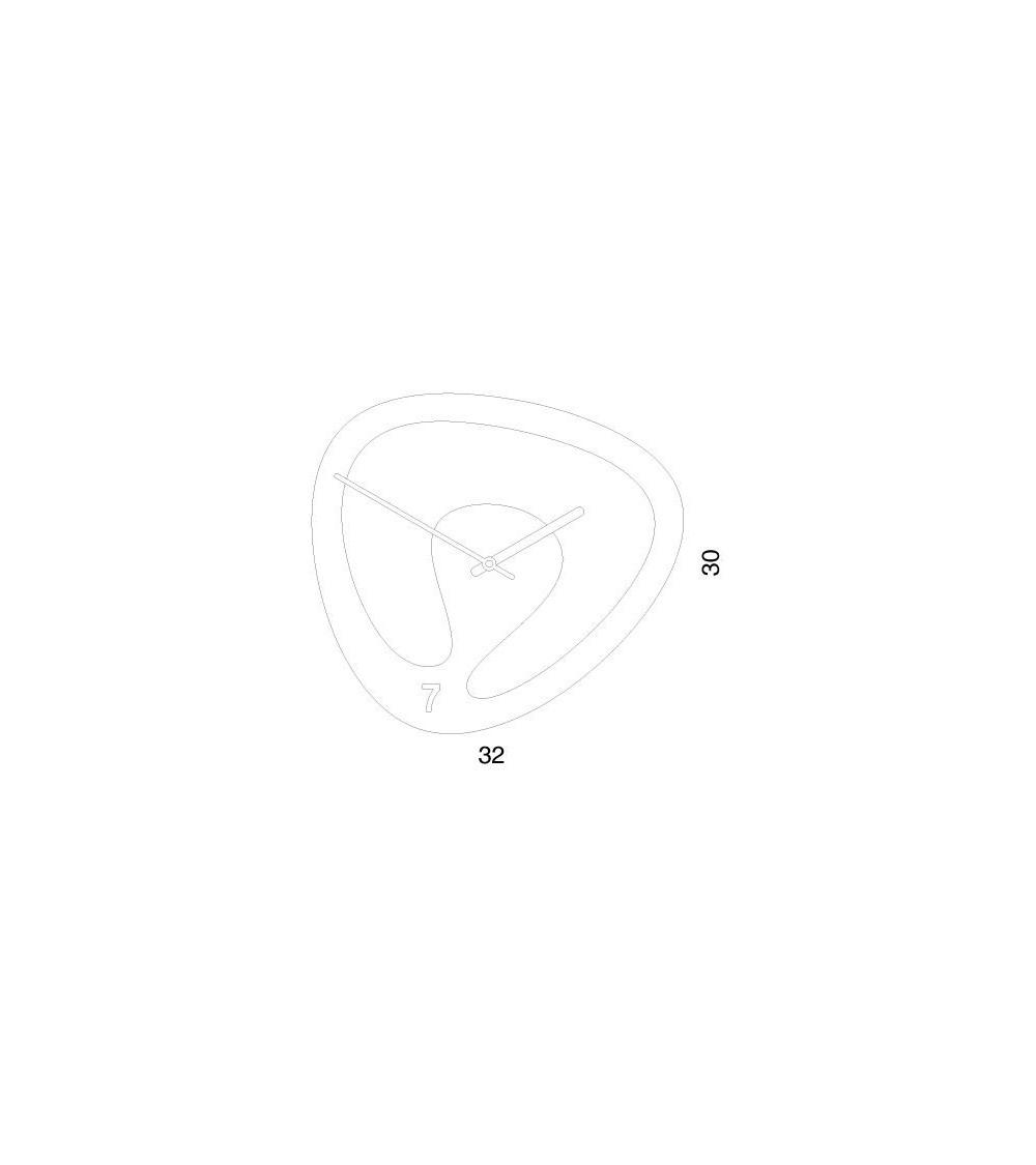 Scheda tecnica Orologio da parete Progetti 25Th Seven
