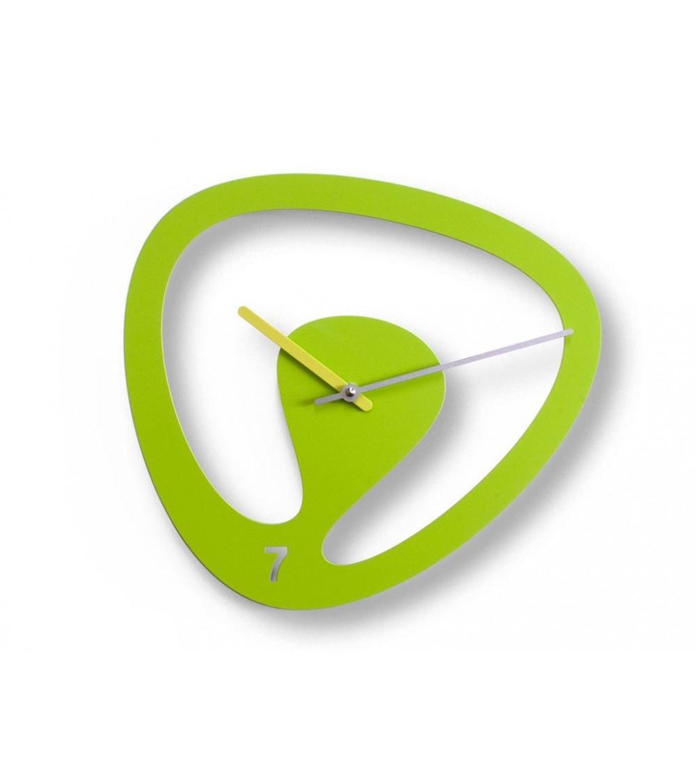 Orologio da parete verde Progetti 25Th Seven