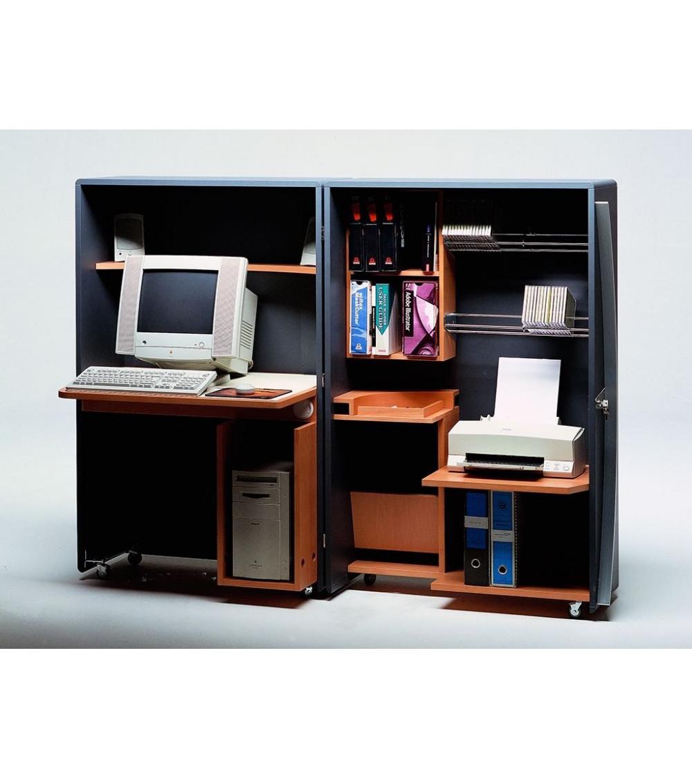 Mobile porta computer aperto Progetti 25th years Cyber box