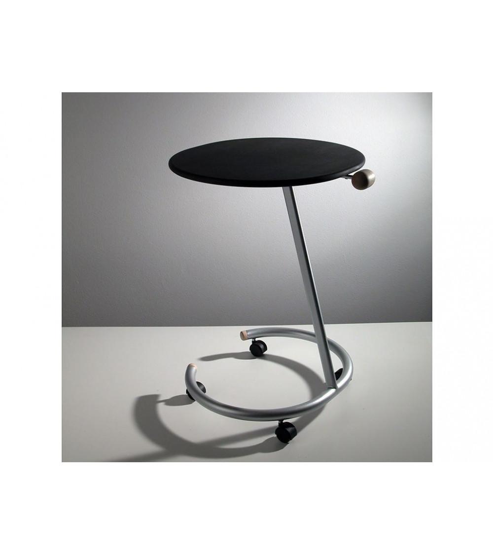 Tavolino in acciaio Progetti 25th years Trottolo