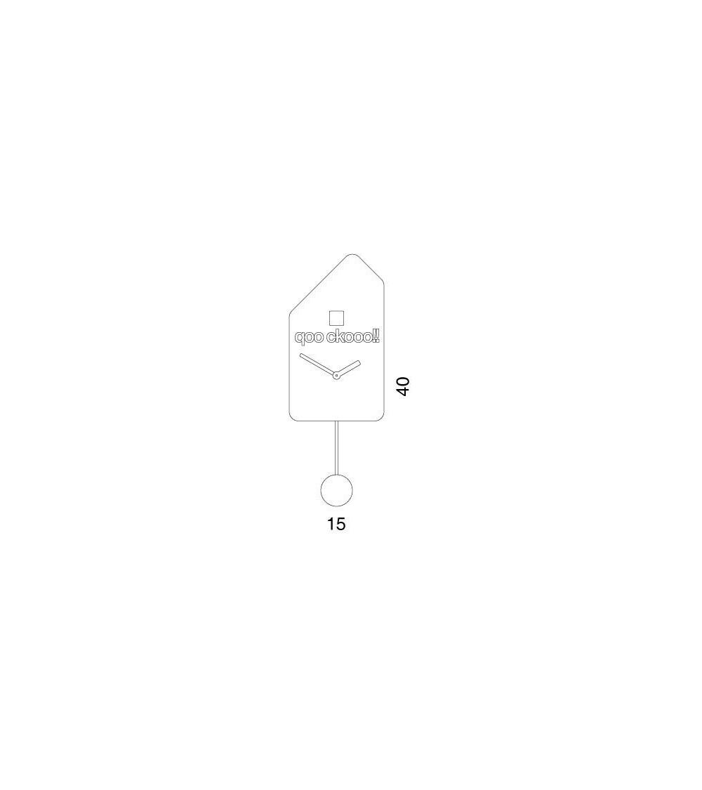 Reloj cucú Progetti 25th Q01