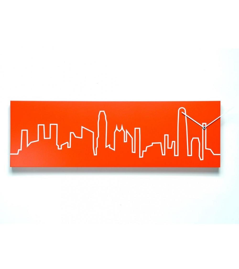 Orologio da parete Hong Kong Progetti 25th Skyline
