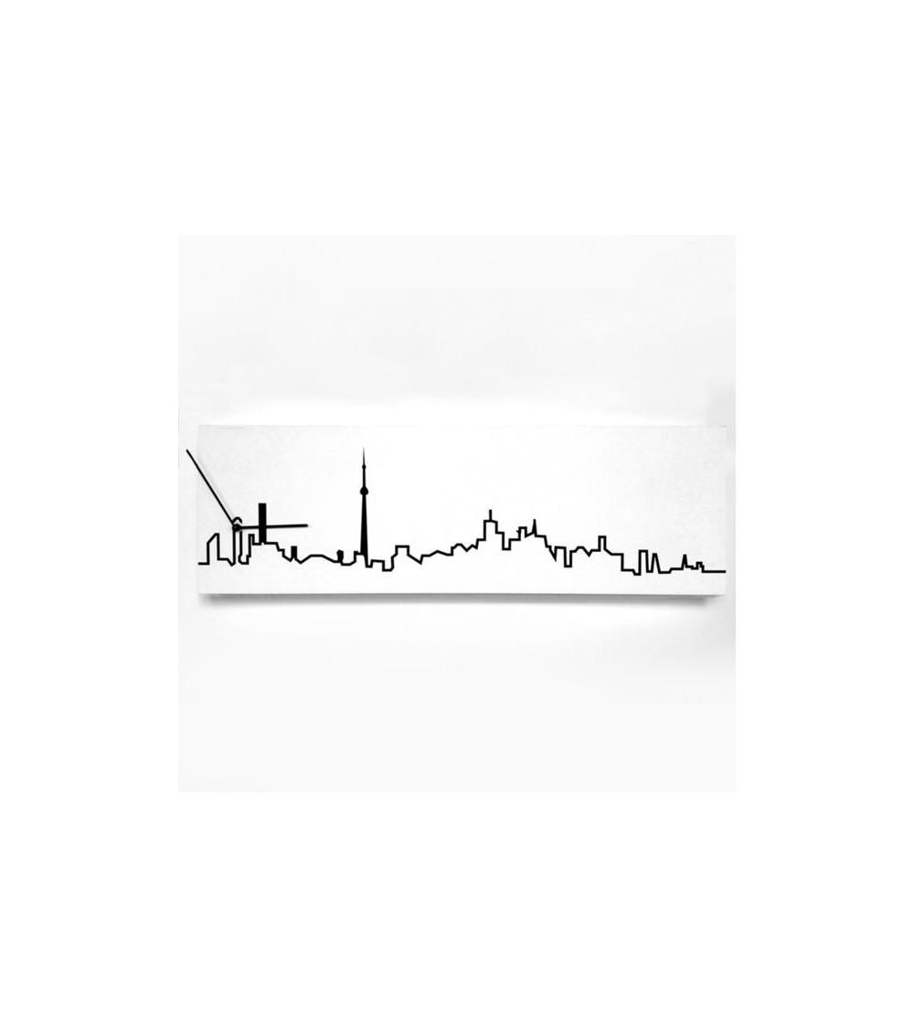 Orologio da parete Toronto Progetti 25th Skyline