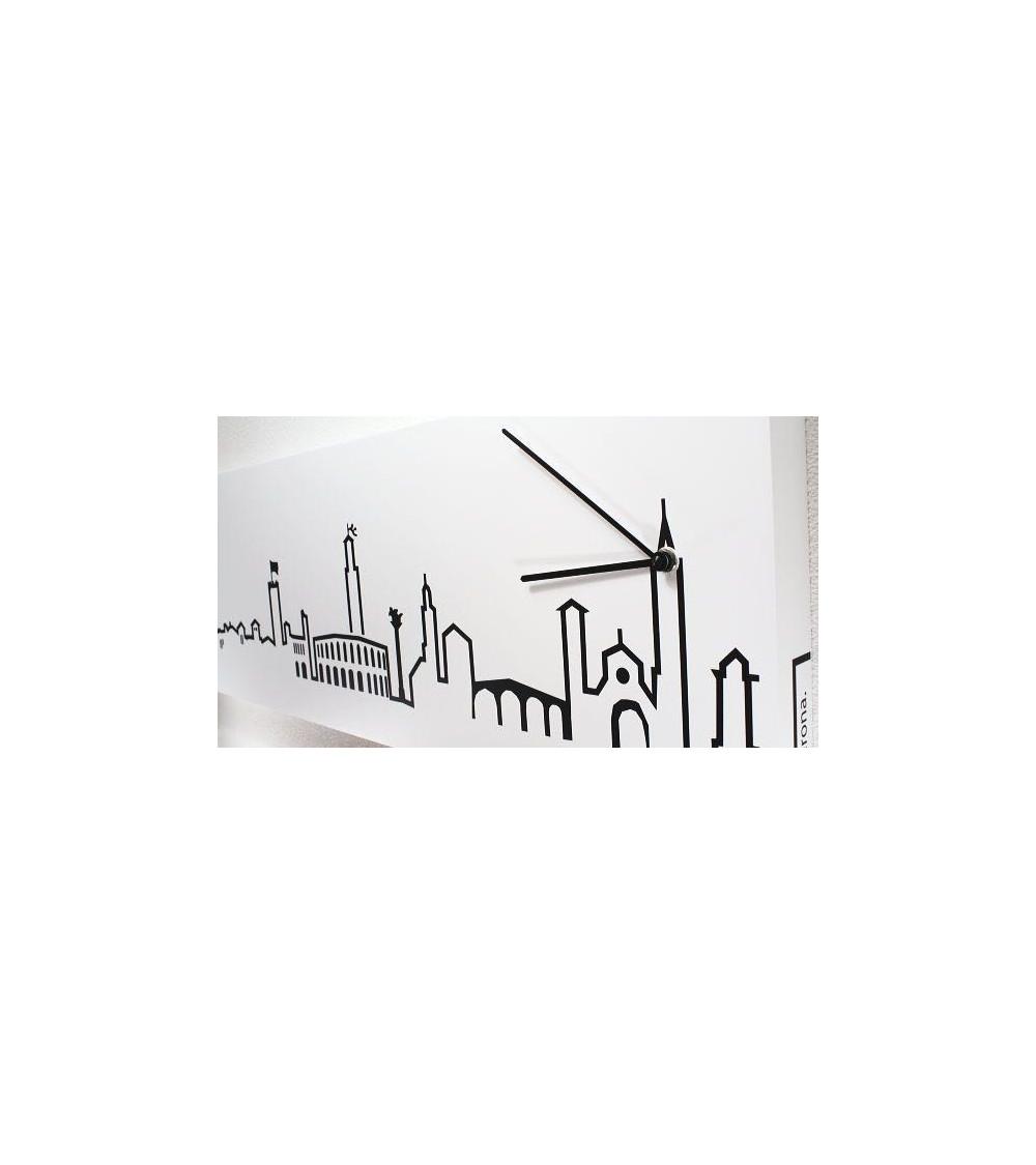 Dettaglio Orologio da parete Progetti 25th Skyline