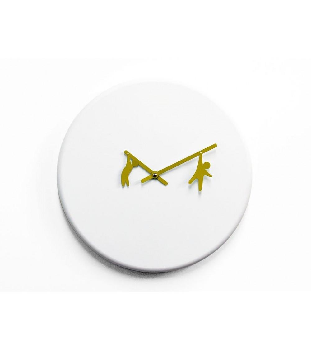 Orologio da parete lancette verdi Progetti 25th Time2Play