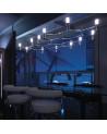 lámpara de techo Nemo Crown Plana