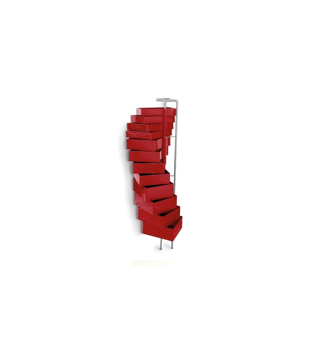 Cassettiera Rossa B-Line Spinny