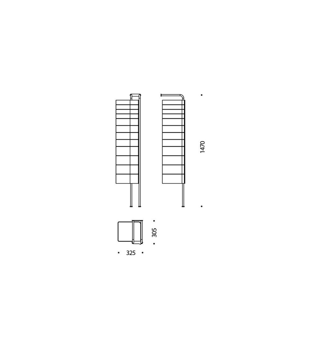 Scheda tecnica Cassettiera B-Line Spinny