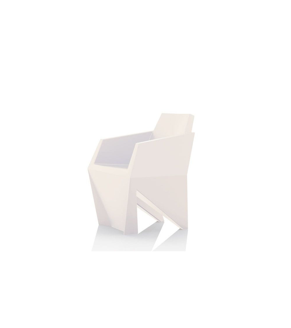 Poltrona bianco B-Line Gemma