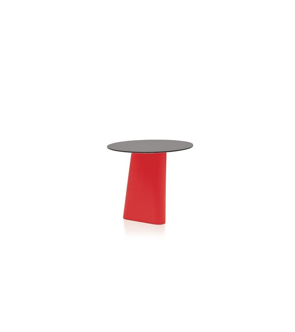 Rosso Tavolo B-Line Adam ⌀ 80/H 72
