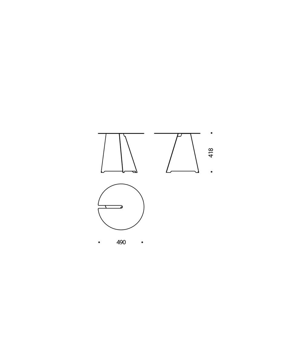Tavolino B-Line Abra