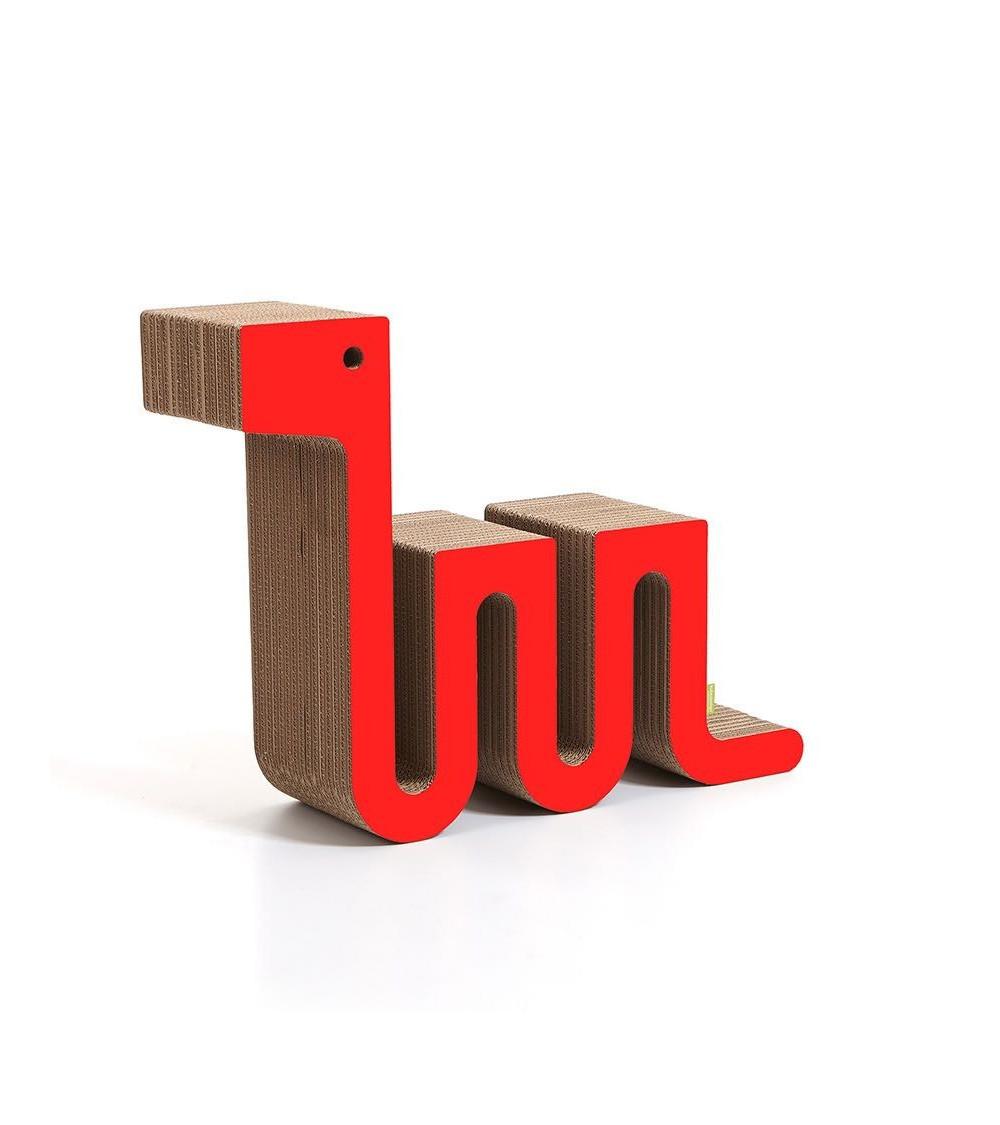 Tavolino rosso Kubedesign Nessy