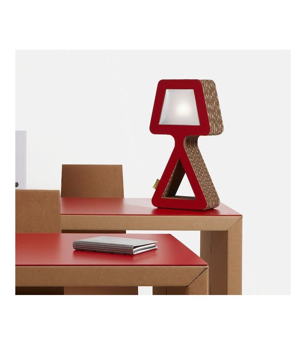 Lampada da tavolo design Kubedesign Biancaneve