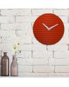 Orologio da parete Sabrina Fossi Wave Clock red
