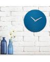 Wanduhr Sabrina Fossi Wave Clock blue