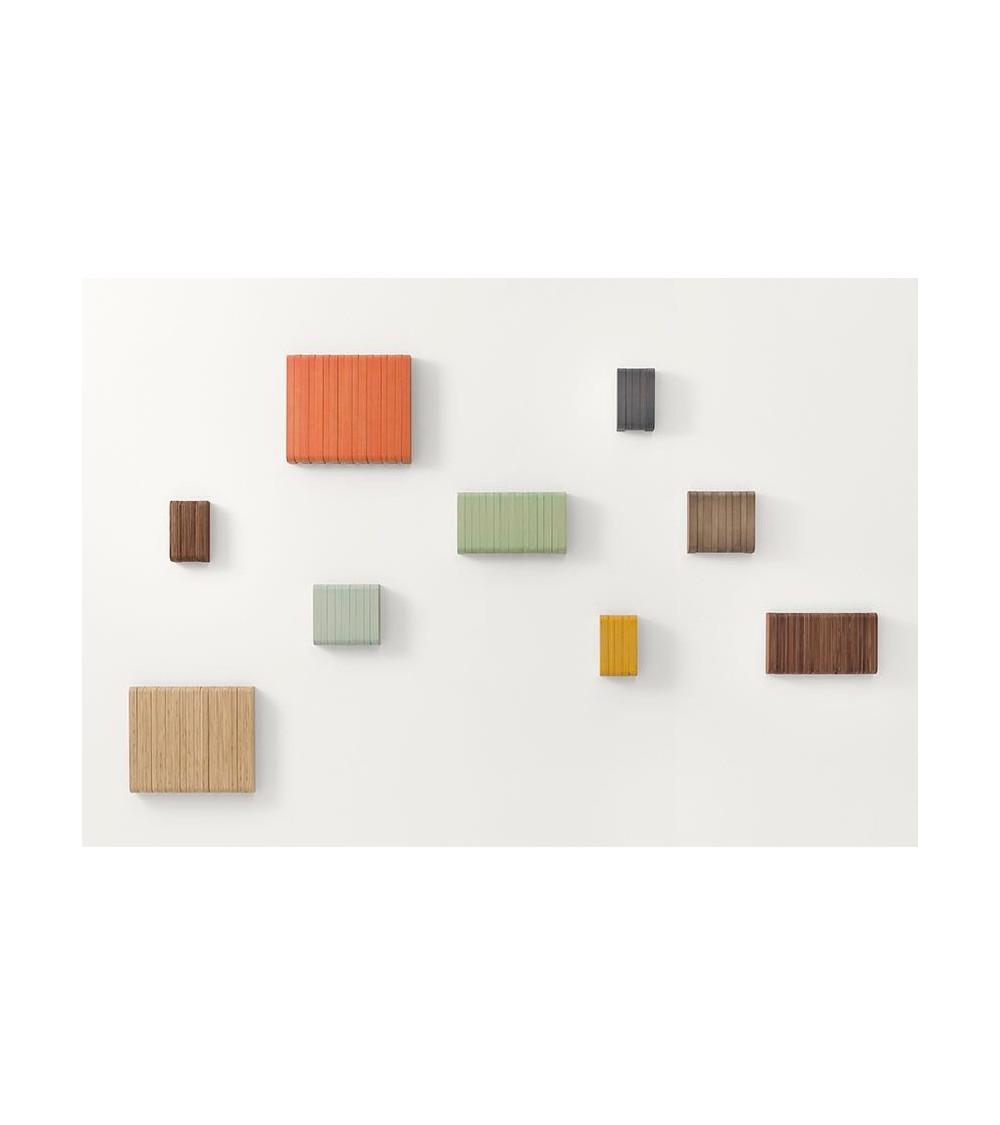 sculptures jeux hidden attaccapanni a muro in legno