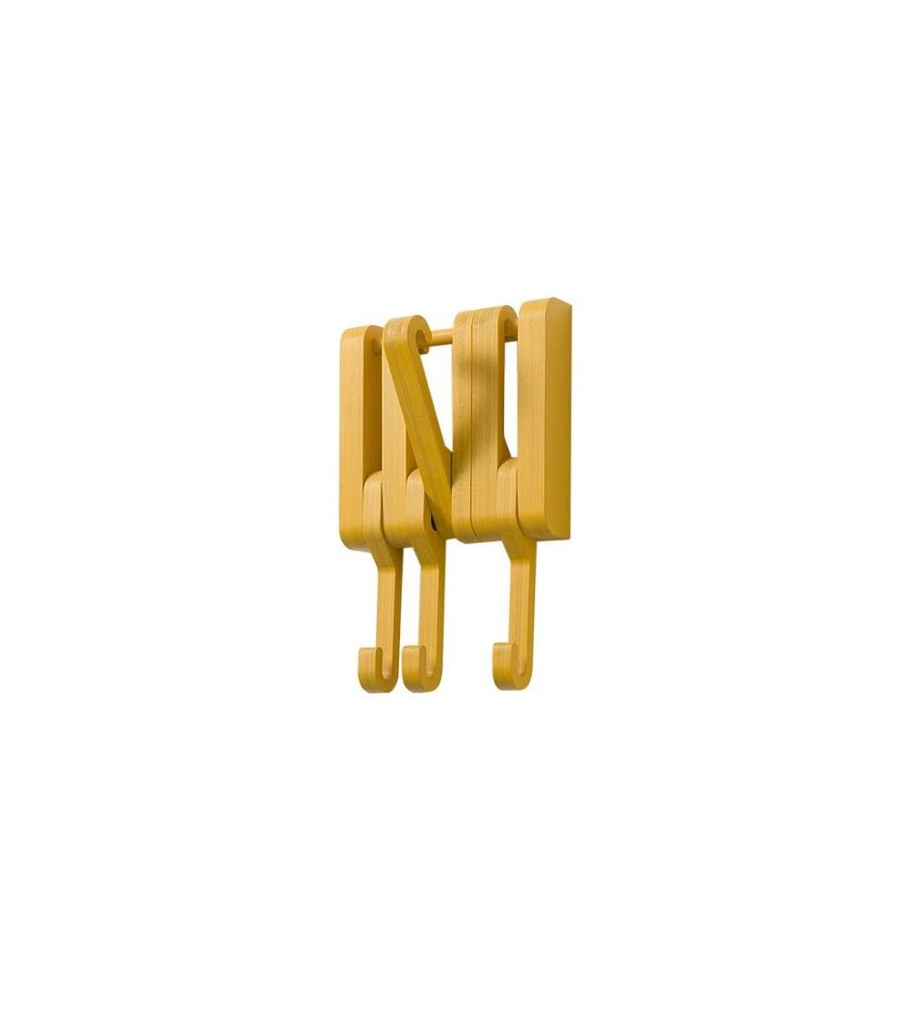 attaccapanni a muro in legno massello sculptures jeux hidden