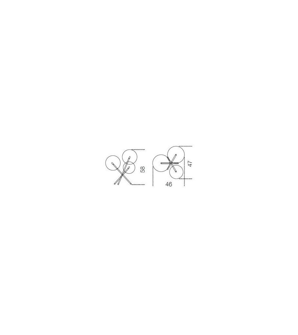 Tischlampe Gallotti&Radice Bolle Tavolo 3