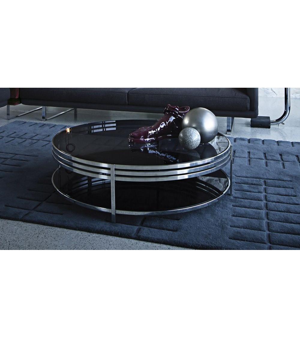 Tavolino Top in cristallo Arketipo Ula