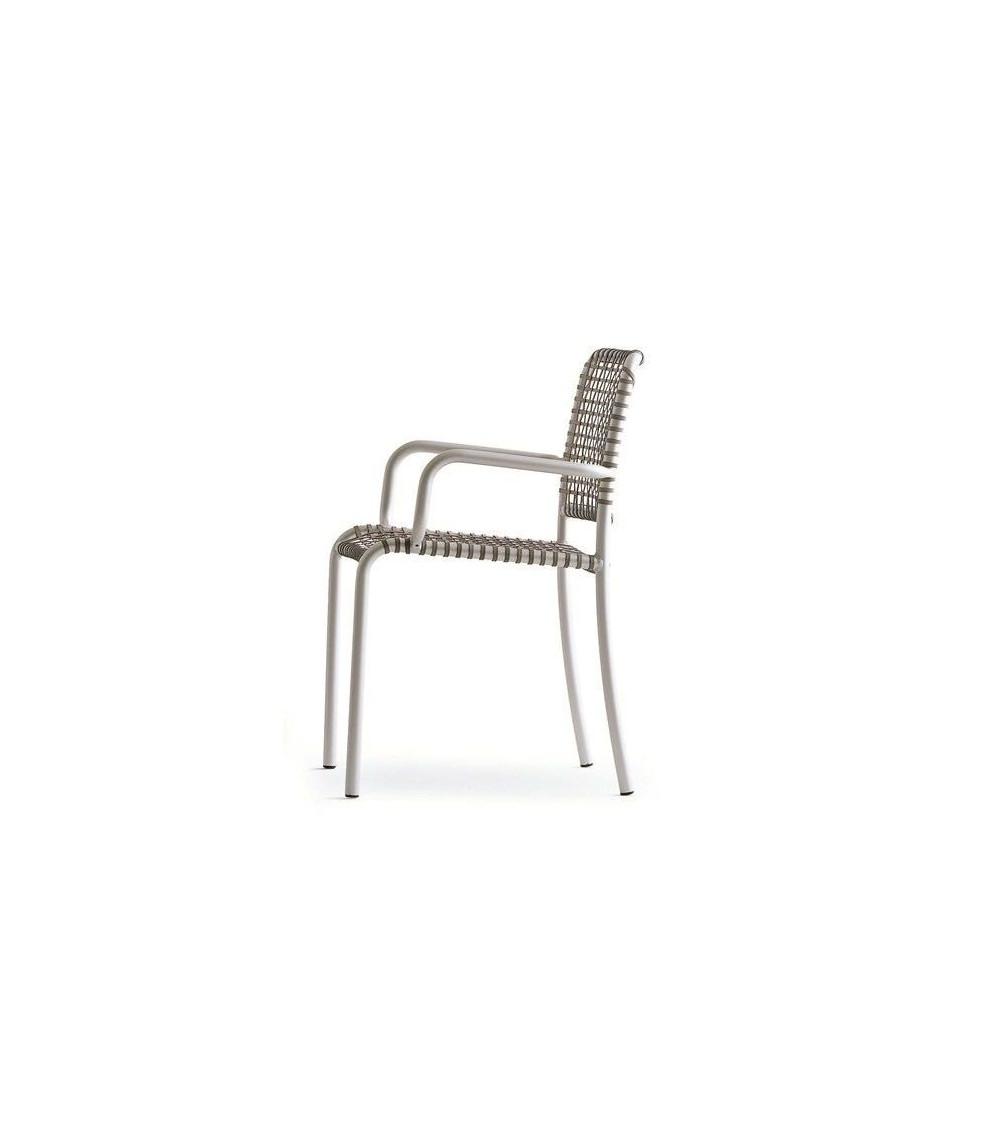 sedie moderne di alluminio gervasoni allu 24 I / 224 I