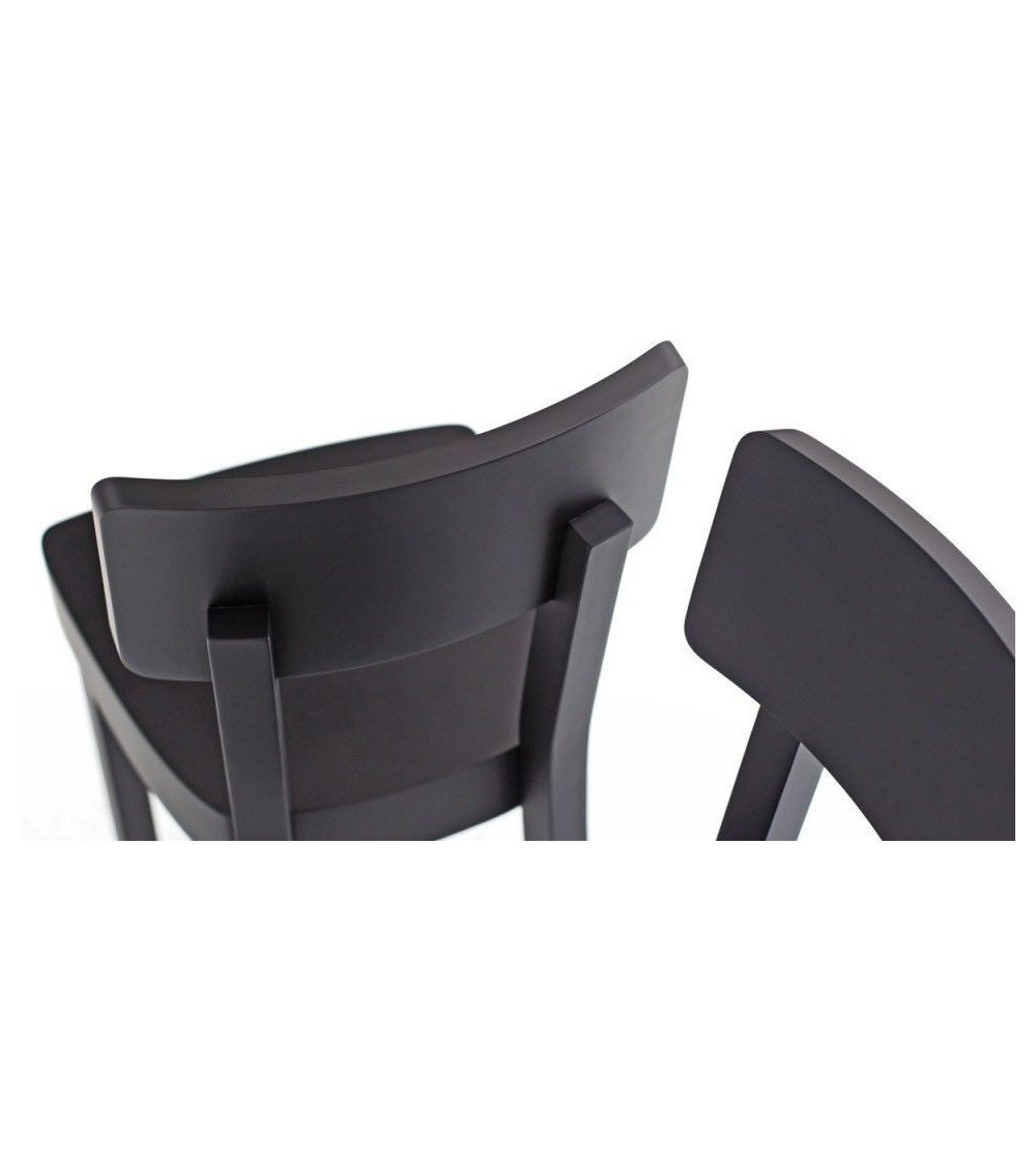 sedie black 123 design gervasoni